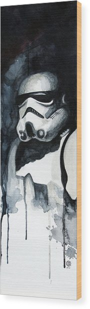 Stormtrooper Wood Print