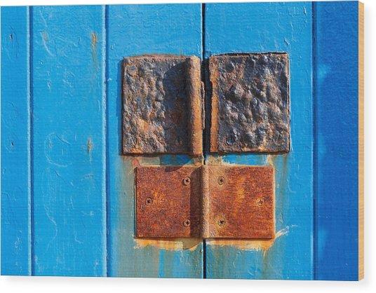 Story In Rust Wood Print