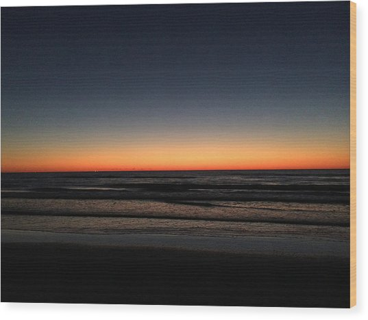 St.pete Sunset 1 Wood Print
