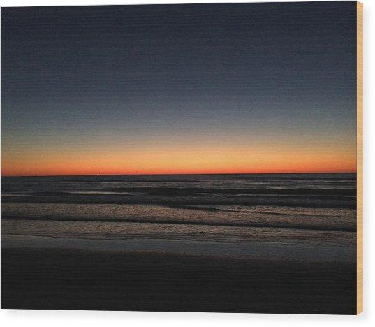 St.pete Sunset 1 Wood Print