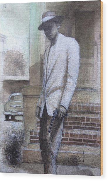 Str8 Gangster Wood Print