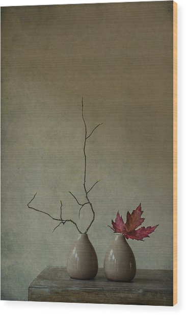 Strange Companions Wood Print