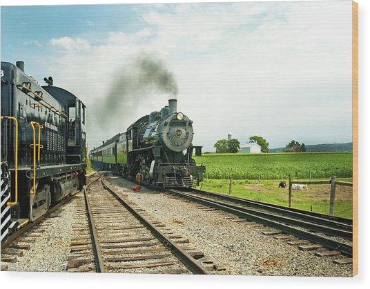 Strasburg Express Wood Print