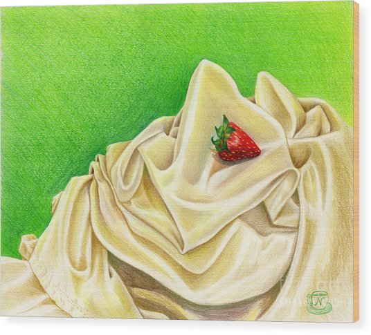 Strawberry Passion Wood Print
