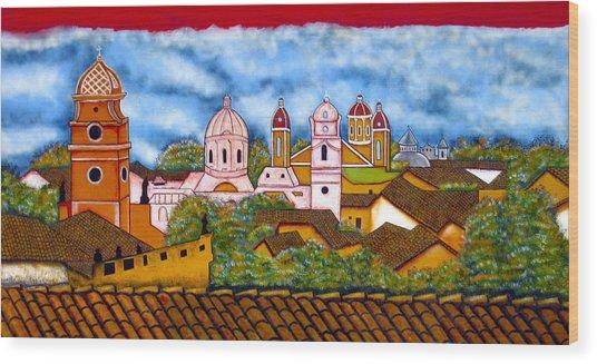 Street Art Granada Nicaragua 3 Wood Print