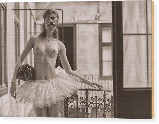 Street Dancer. Wood Print
