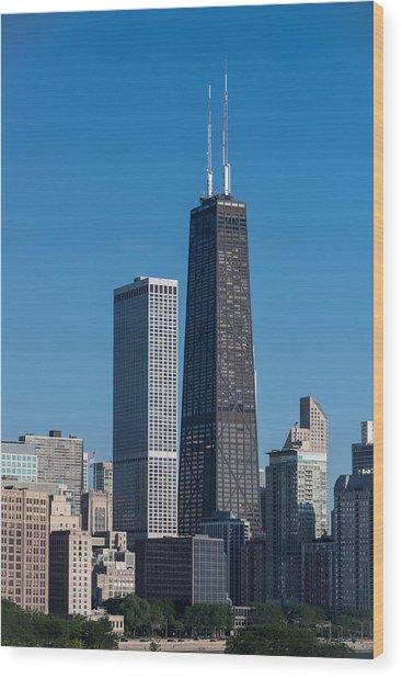 Streeterville Chicago Illinois Wood Print
