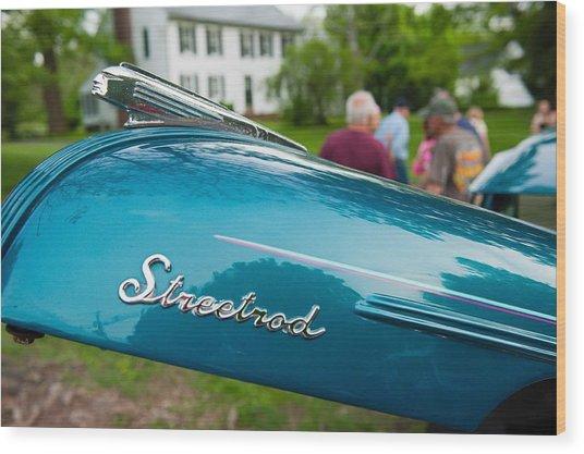 Streetrod Wood Print