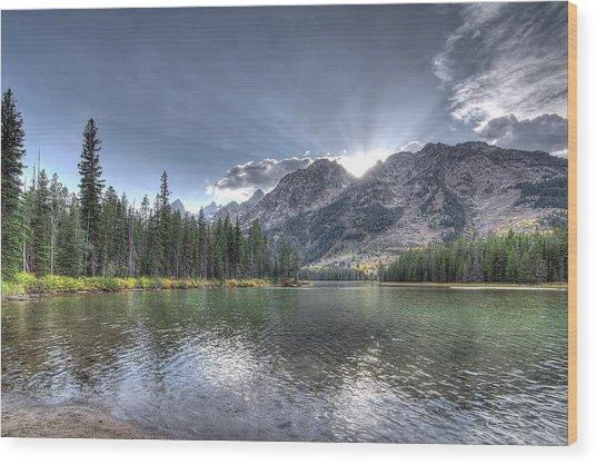 String Lake Wood Print