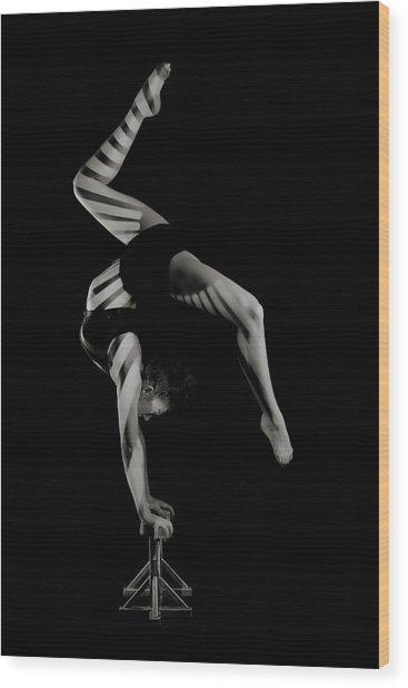 Stripes Wood Print by Howard Ashton-jones