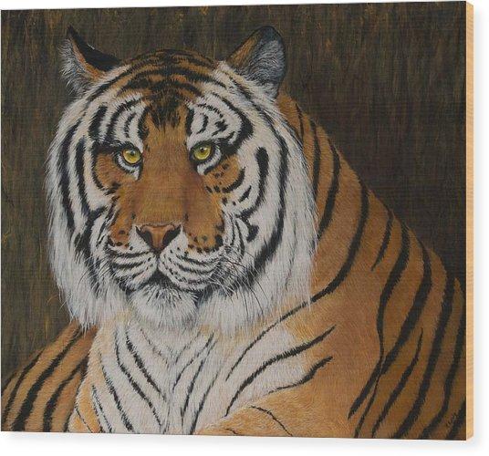 Stripes Wood Print