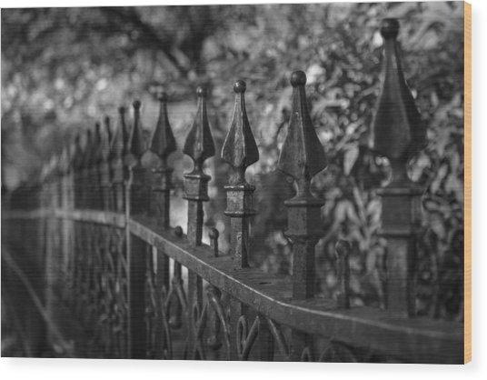 Stroll Back In Time 2 Wood Print