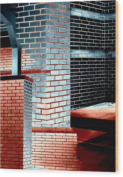 Structuralism Wood Print