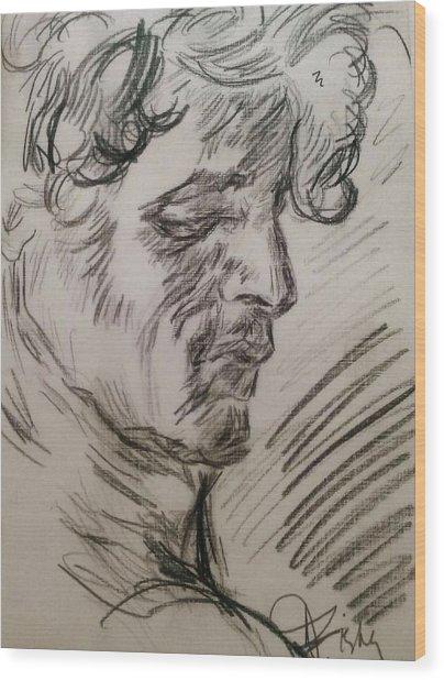 Study Of Richard Wood Print