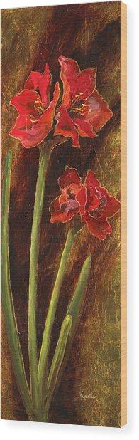 Sturdy Blooms II Wood Print