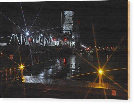 Sturgeon Bay Bridge Wood Print