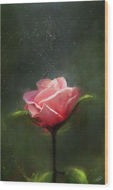 Subtle Beauty Wood Print