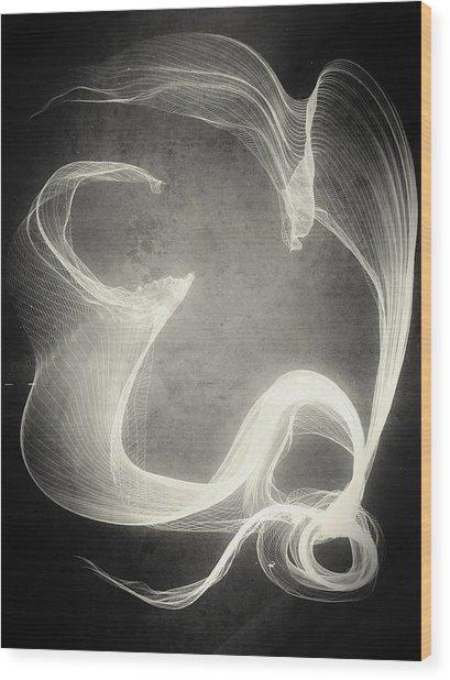 Succubus Wood Print by Guillermo De Llera