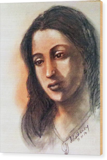 Suchitra Sen Wood Print