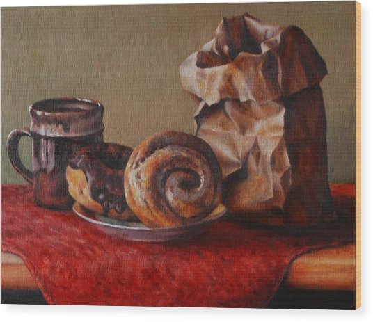 Sugar Bomb Wood Print by Dan Petrov