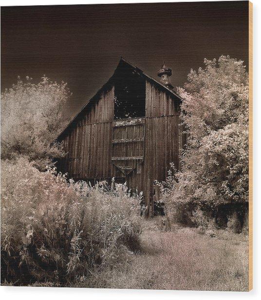 Sugar Bottom Barn #1 Wood Print