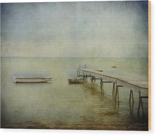 Summer Dawn Wood Print by Susan Kimball