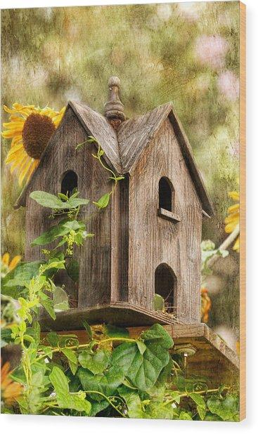 Summer Residence Wood Print