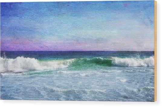 Summer Salt Wood Print