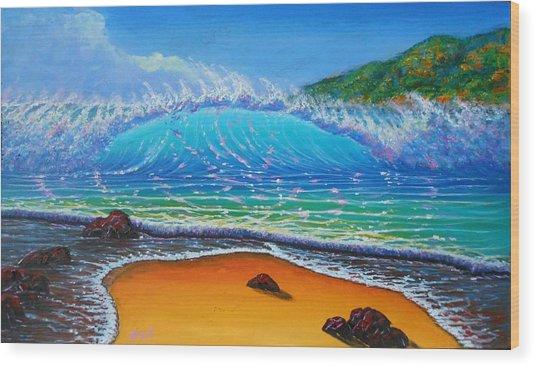 Summer Winds Wood Print