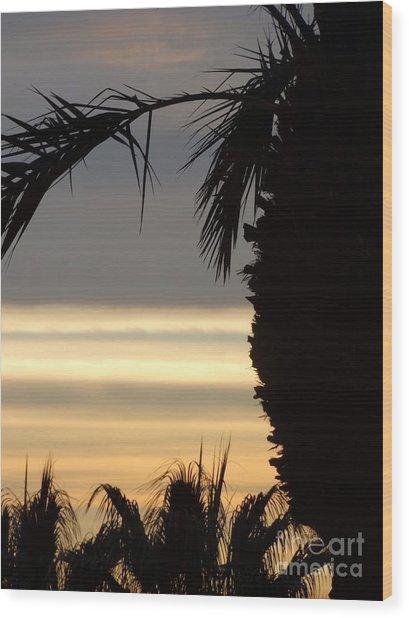 Summerlin Nv Sunset Wood Print