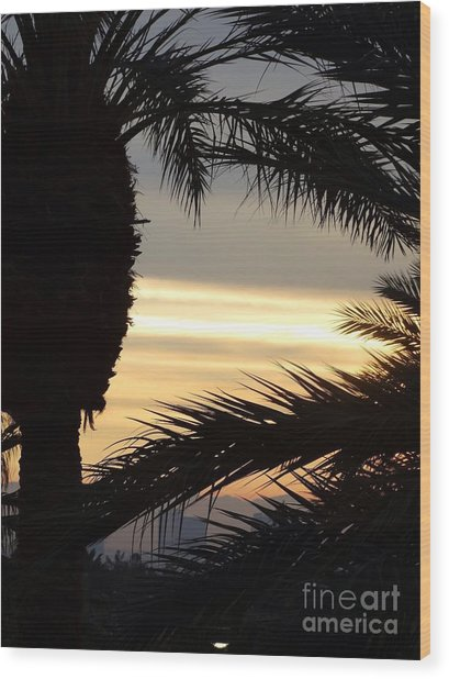 Summerlin Sunset Wood Print