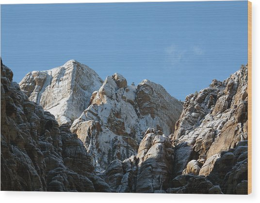 Summits Reach Wood Print