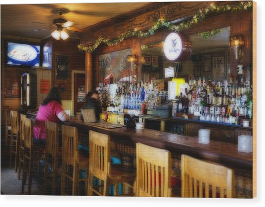 Sumneytown Bar Wood Print