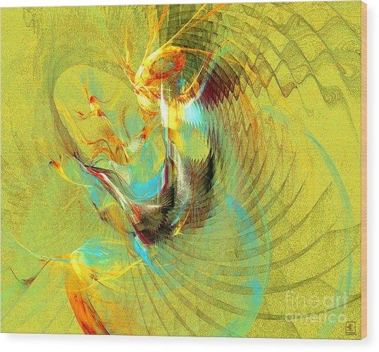 Sun Dancer Wood Print