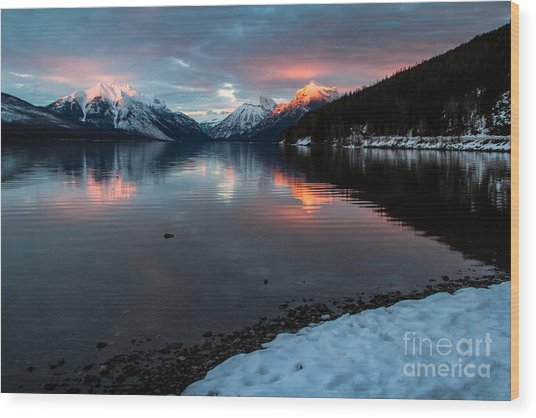 Wood Print featuring the photograph Sun Kissed 1 by Katie LaSalle-Lowery