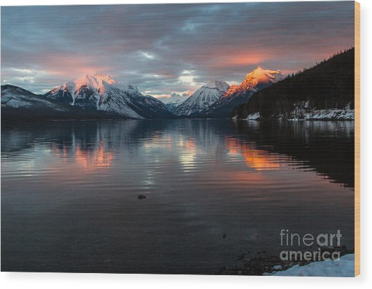 Wood Print featuring the photograph Sun Kissed 2 by Katie LaSalle-Lowery