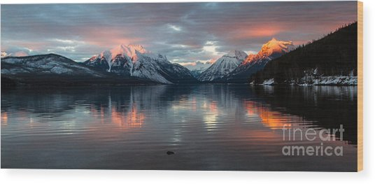 Wood Print featuring the photograph Sun Kissed 2  Pano Crop by Katie LaSalle-Lowery