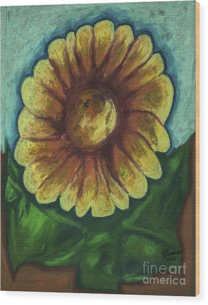 Sun Sensation Wood Print