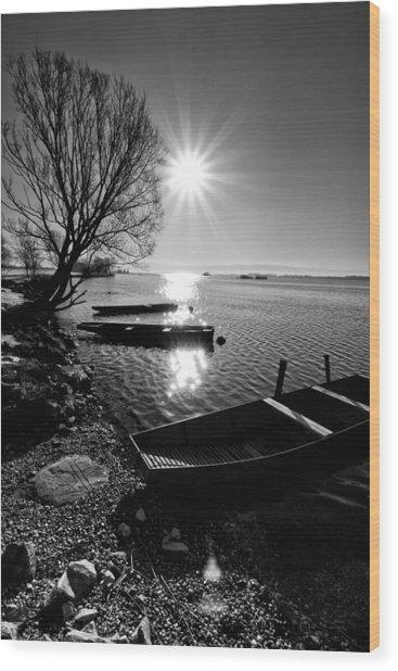 Sunny Day Wood Print
