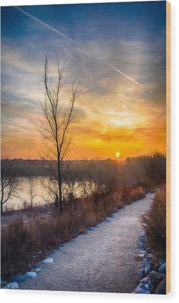 Sunrise 12-2-13 02 Wood Print