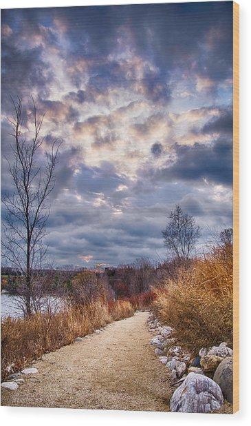 Sunrise 12-5-13 Wood Print