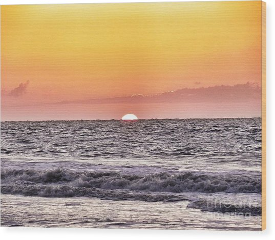 Sunrise Of The Mind Wood Print