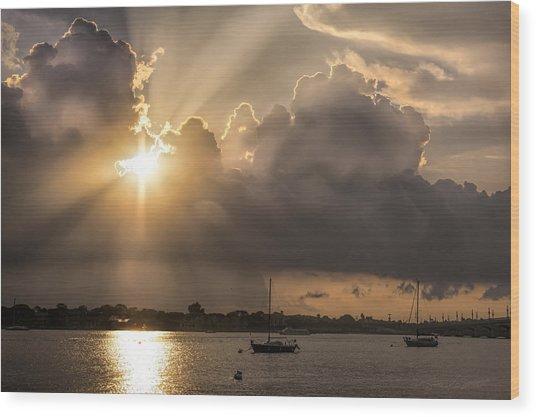 Sunrise St Augustine Bayfront Wood Print