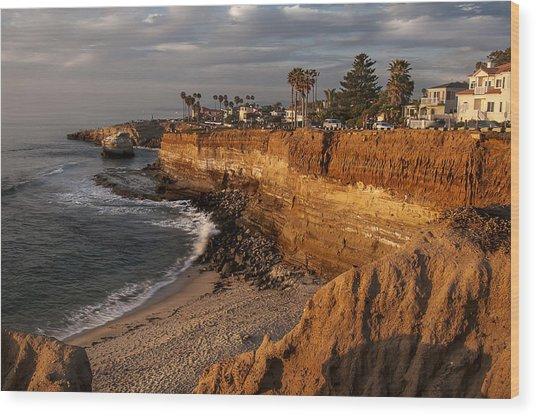 Sunset Cliffs 1 Wood Print