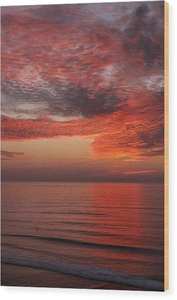 Sunset Cliffs Sunset 1 Wood Print
