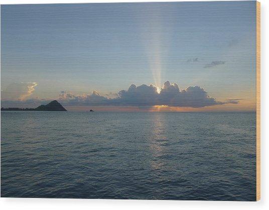 Sunset Cruise - St. Lucia 2 Wood Print