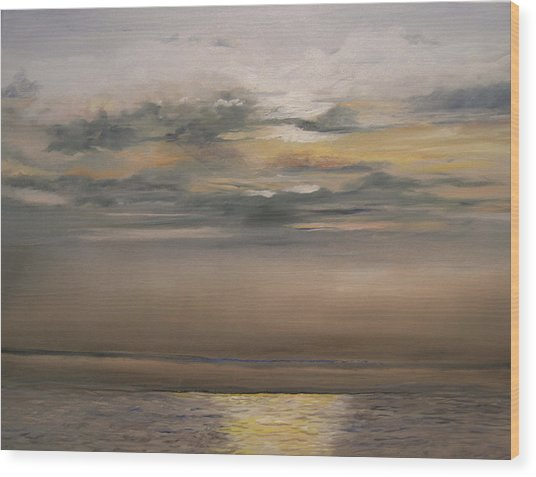 Sunset - Indian Rocks Beach Wood Print