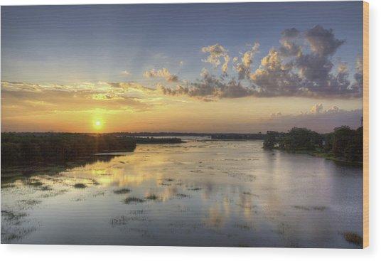 Sunset On The Ashley Wood Print