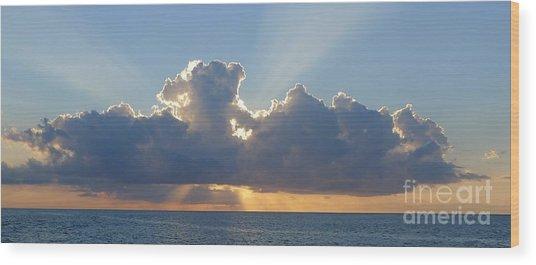 Sunset St. Lucia IIi Wood Print