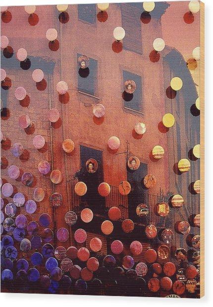 Sunsetsegue2 Wood Print by Irmari Nacht